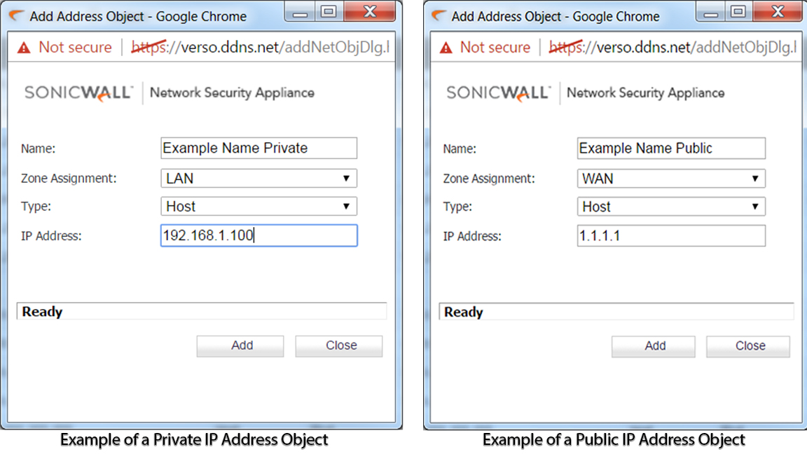 how to set external ip address for a game server