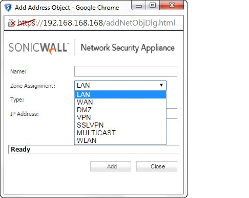 How to create IPv6 Address Objects   SonicWall