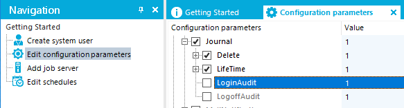 Configuration Setting