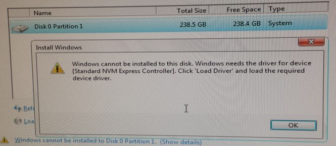 NVMe drives and Windows 7xXX Scripted Installs (185551)