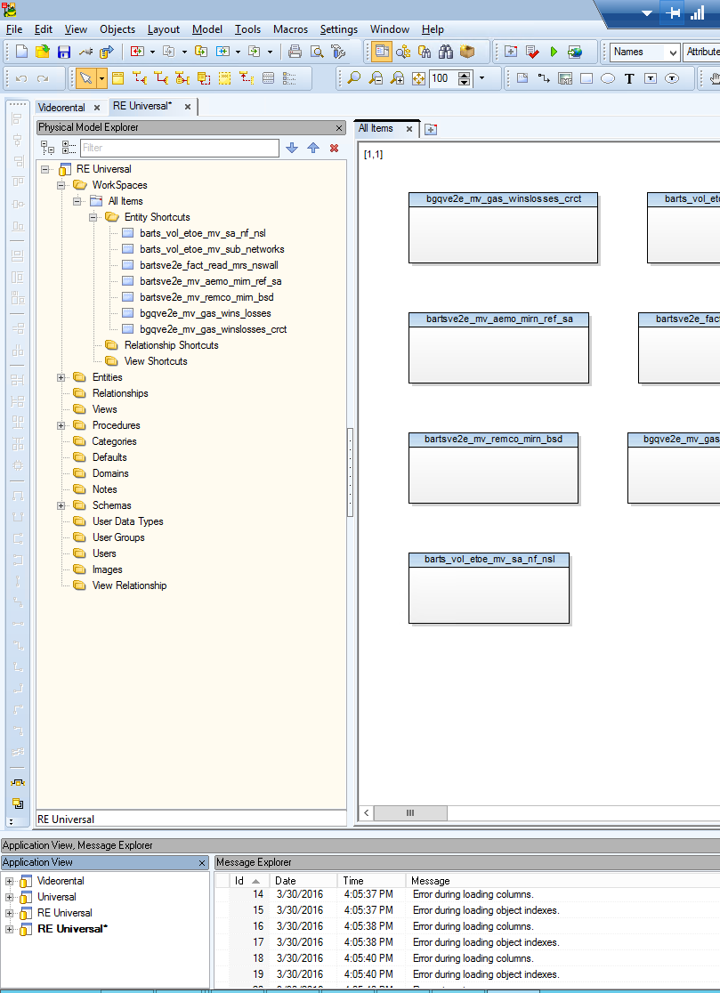 Toad Data Modeler Reverse Engineering problem with RedShift