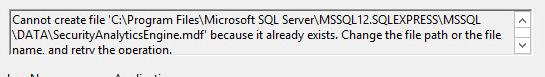 Database Error