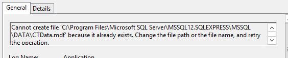 Database Error 2