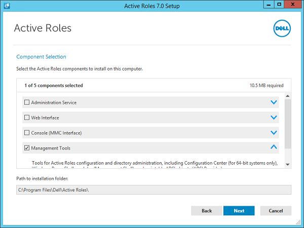 Active Roles Installer