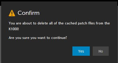 Delete all patches