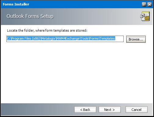 Folder for Templates