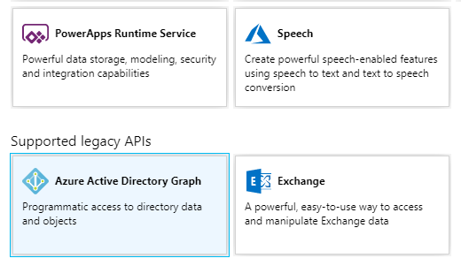 Azure Active Directory Graph