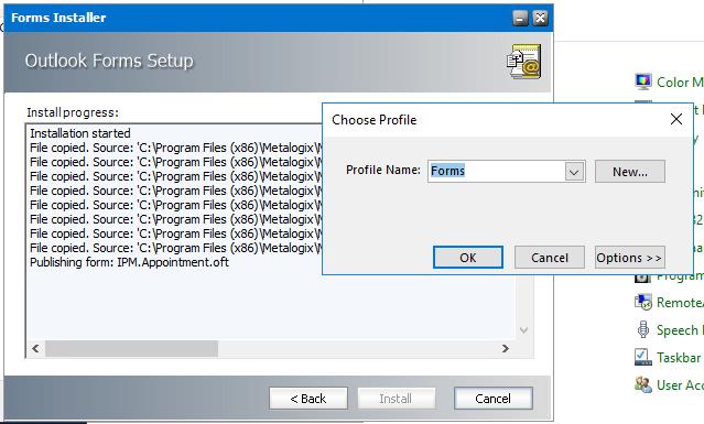 Profile Prompt (Forms profile)