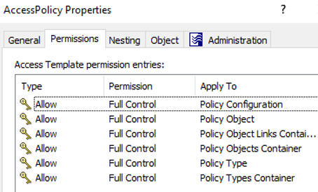 AT Permissions Workflow Control