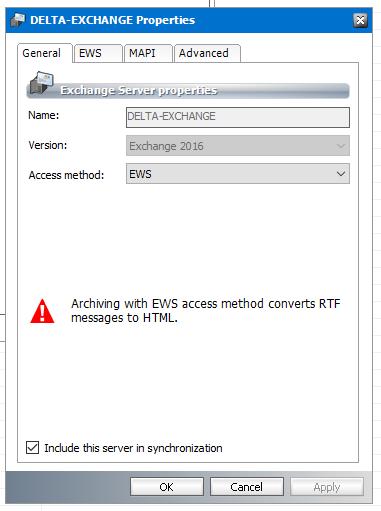 EWS convert RTF to HTML