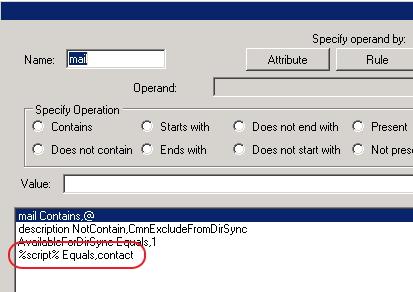Screen shot of Update Filters Script Deletion